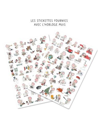 Stickettes Muis