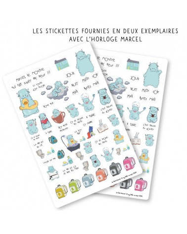 Stickettes Marcel
