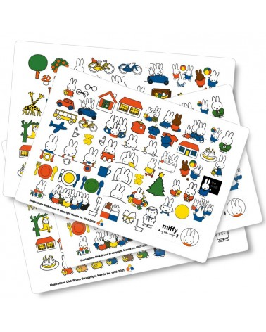 Pack miffy les stickettes