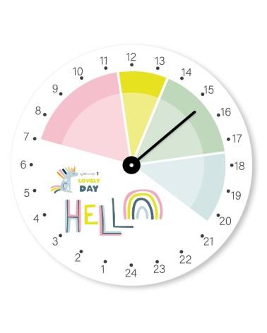 Lovely Day 24h horloge