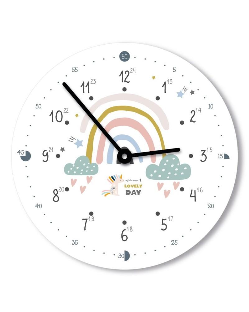 Horloge 12h classique