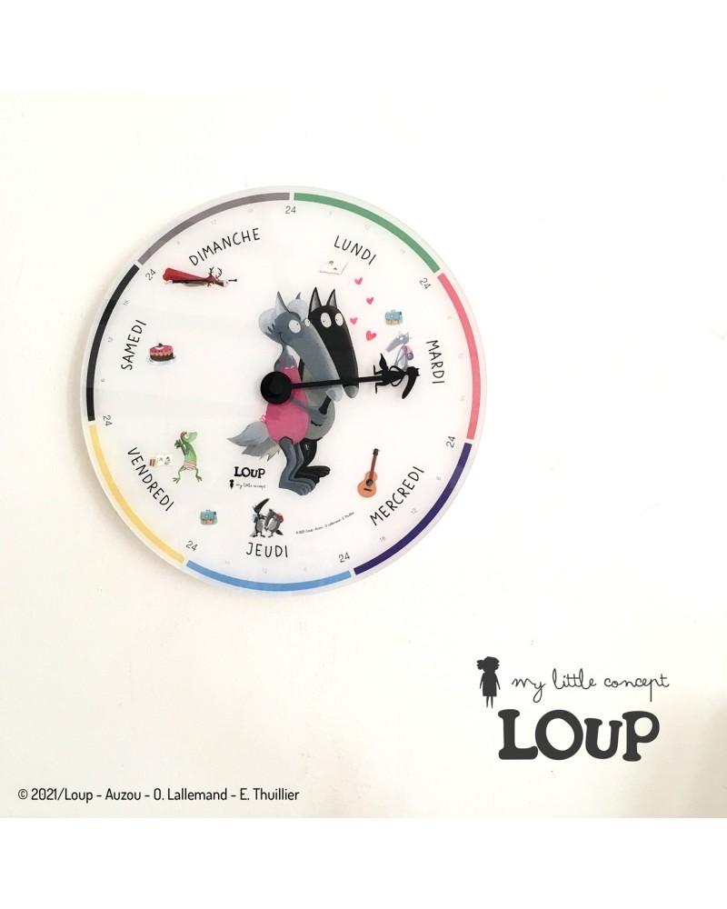 Horloge Semaine Auzou